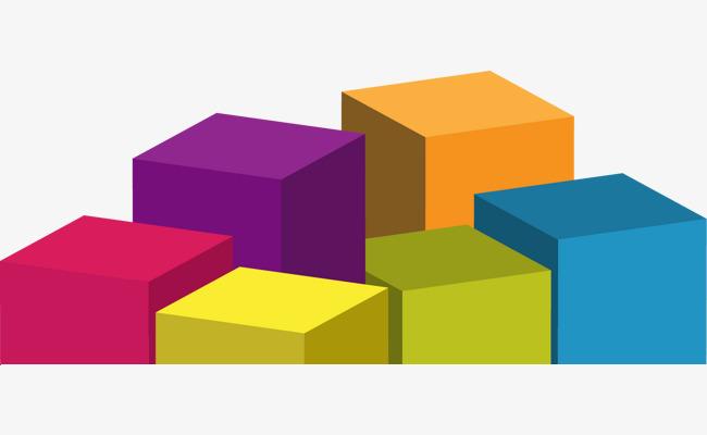矢量手绘彩色柱子【高清png素材】-90设计