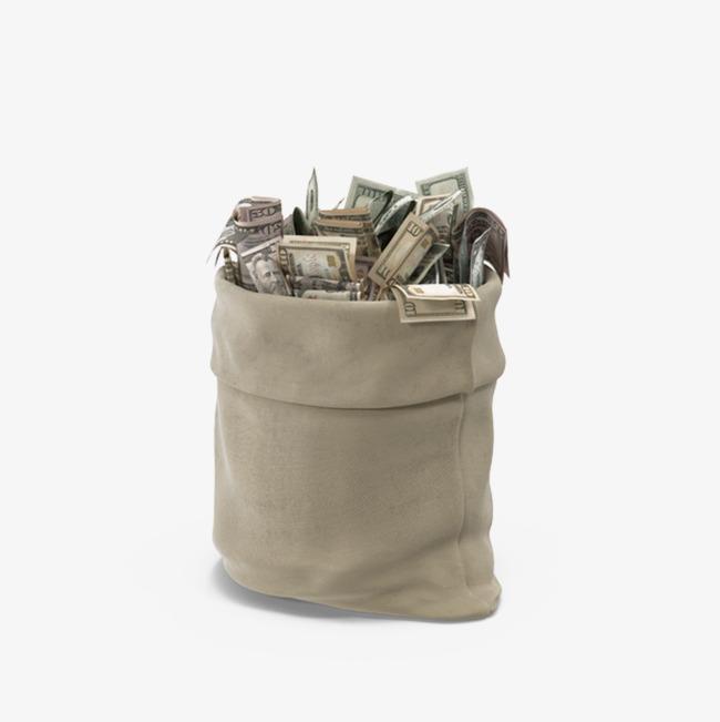 一麻袋的钱素材图片免费下载_高清产品实物p