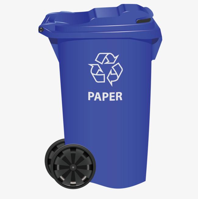 图片 > 【png】 蓝色垃圾桶  分类:手绘动漫 类目:其他 格式:png 体积