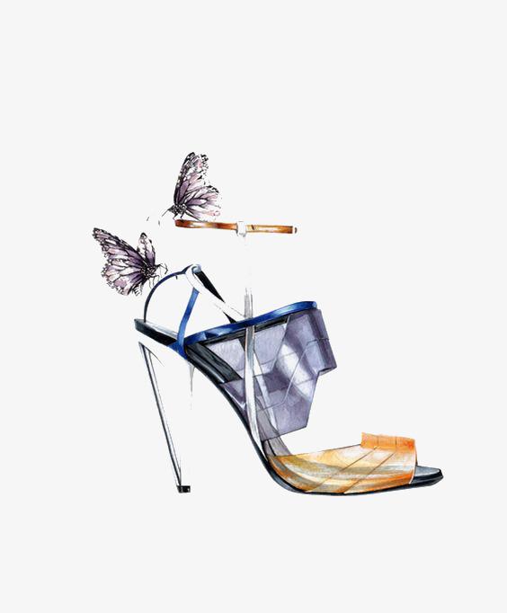 图片 > 【png】 创意时尚高跟鞋  分类:手绘动漫 类目:其他 格式:png