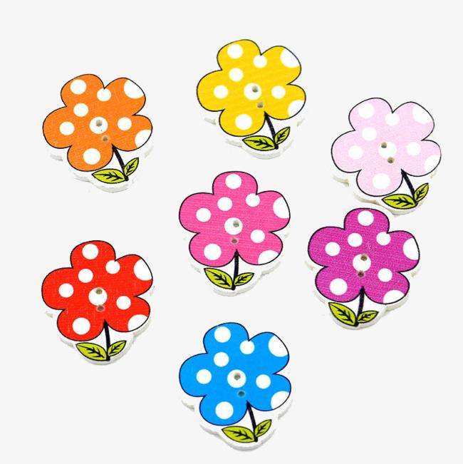 简笔画五朵小花