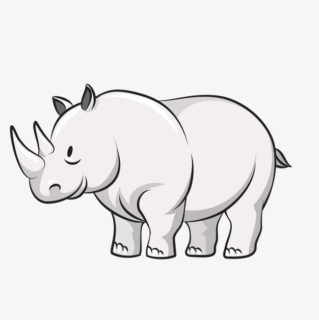 犀牛  动物  耳朵  灰色犀牛  动物  耳朵  灰色免扣素材