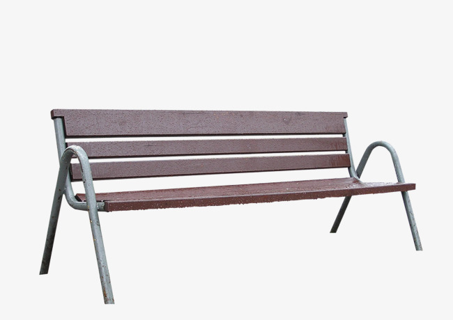 公园木制长椅png素材-90设计图片