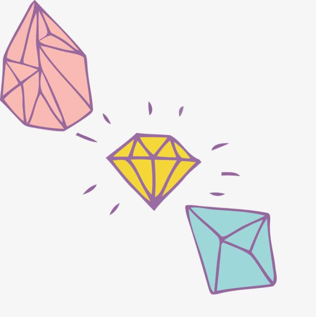 矢量水晶钻石素材png素材-90设计