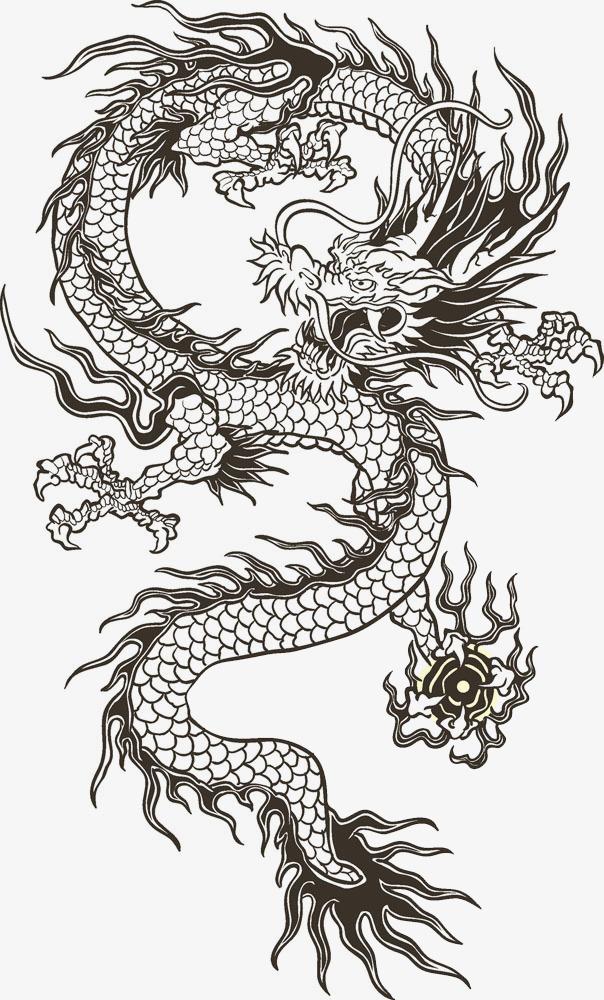 中國龍圖騰