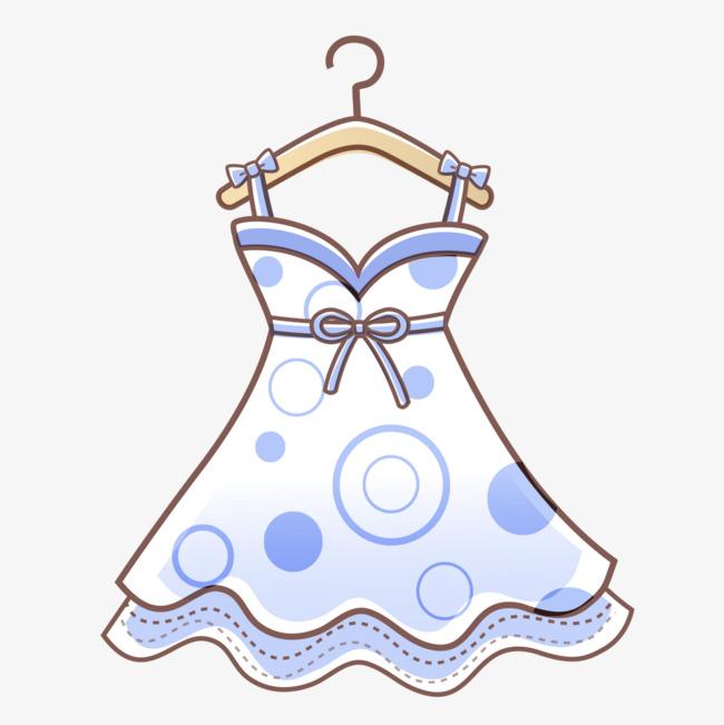 手绘裙子图形