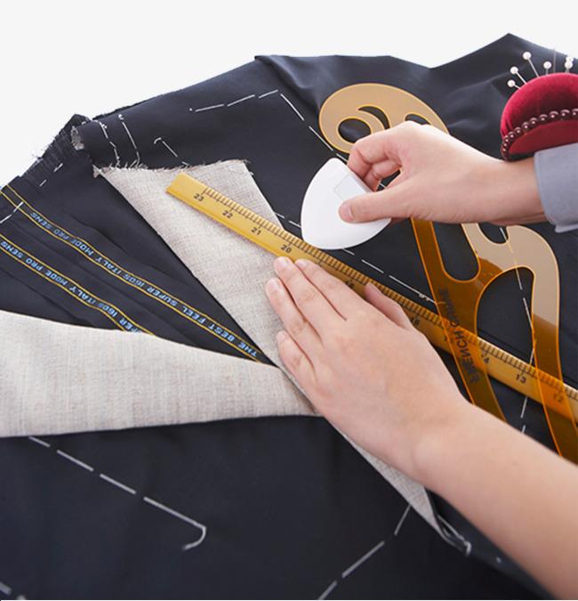 裁缝量度衣服