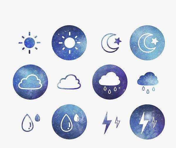 气象卡通 幼儿园天气预报卡通画图片