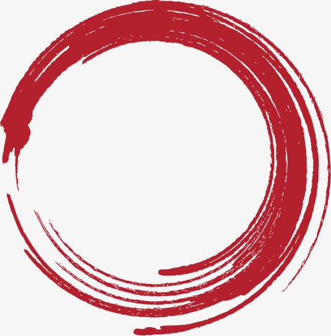 红色圆圈虚线圆矢量素材图片免费下载_高清图片pngpsd_千库网(图片