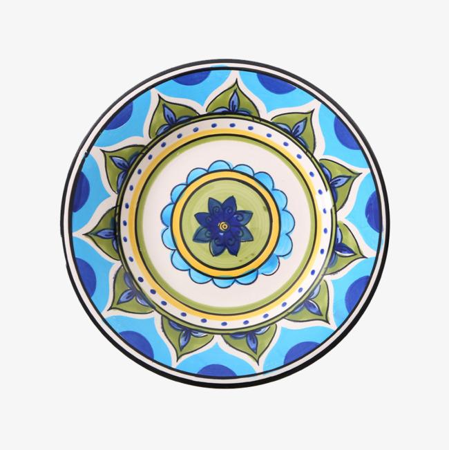 手绘陶瓷盘子