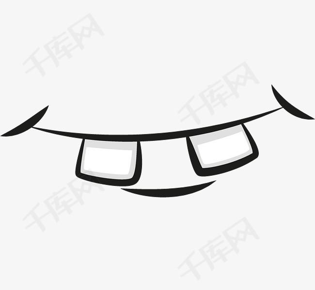 卡通嘴部设计矢量图素材图片免费下载 高清装饰图案psd 千库网 图片编号680497图片
