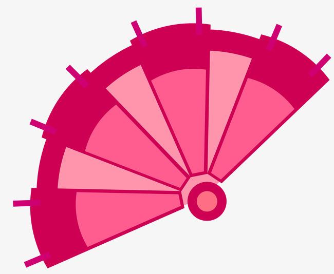 图片 > 【png】 矢量粉红色扇子素材  分类:店铺首页 类目:其他 格式