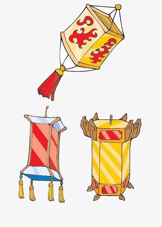 图片 > 【png】 灯笼工艺品卡通素材  分类:手绘动漫 类目:其他 格式