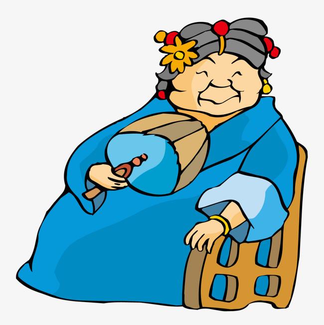 自拍老婆婆愹�_坐在椅子上休息的老婆婆