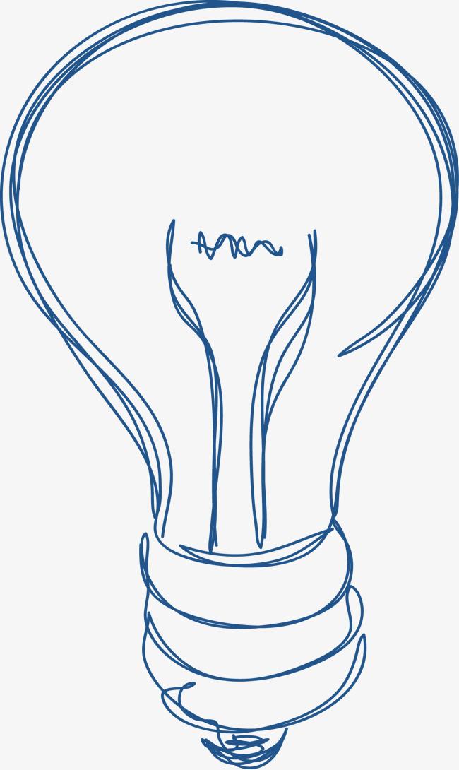灯泡,手绘灯泡,淘宝,手绘元素素材图片免费下载 高清漂浮素材psd