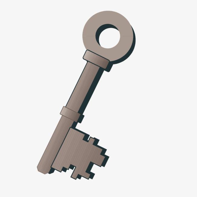 手绘钥匙图片