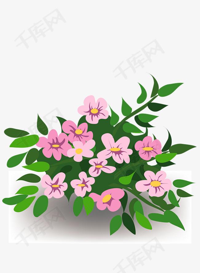 花,花朵,绿草地,淘宝素材,矢量素材