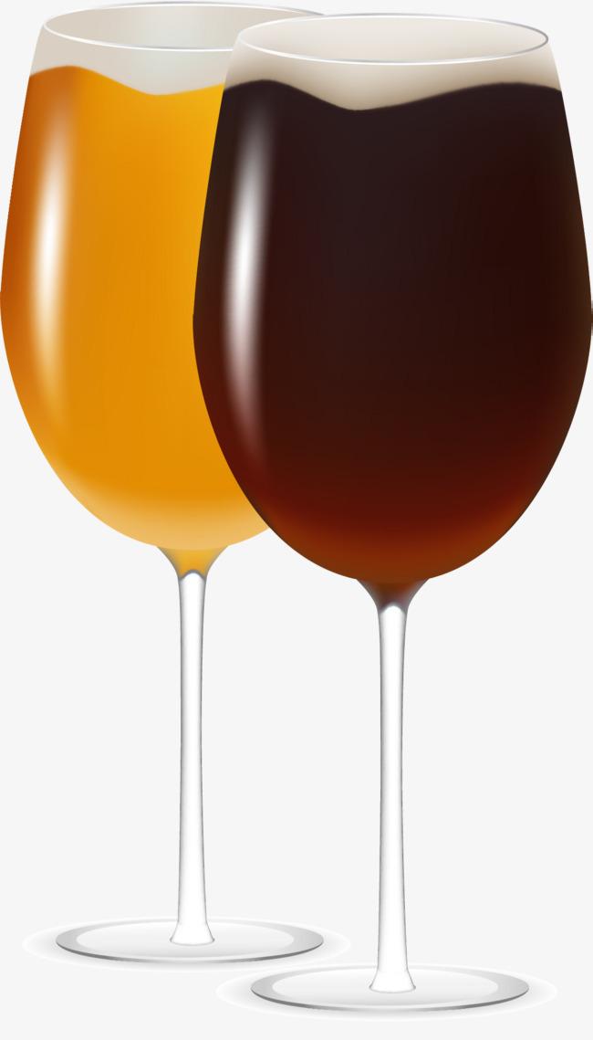 矢量手绘红酒杯png素材-90设计