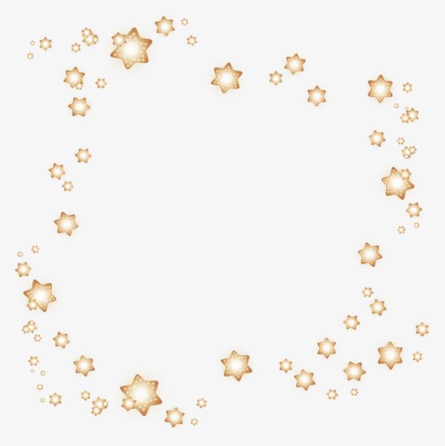 华丽星星装饰品【高清装饰元素png素材】-90设计