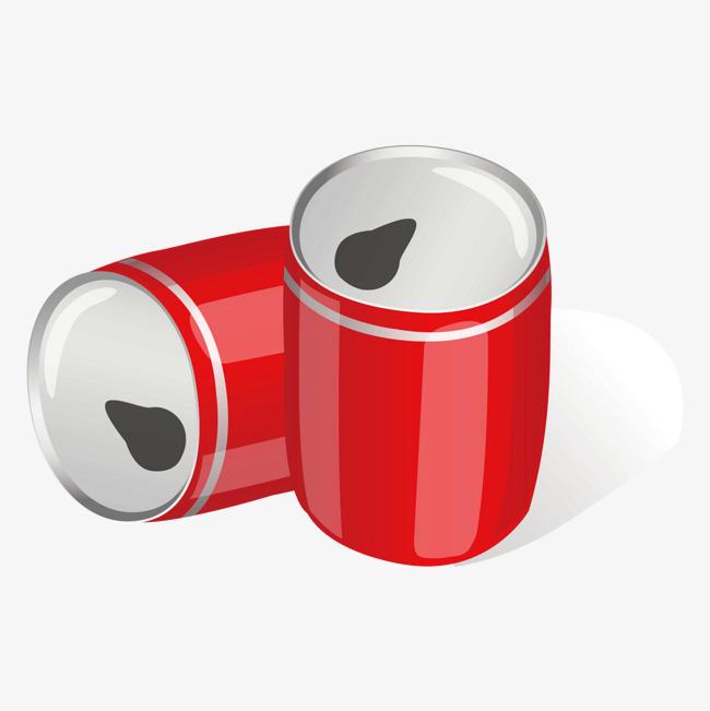 90设计提供高清png手绘动漫素材免费下载,本次红色易拉罐作品为设计师