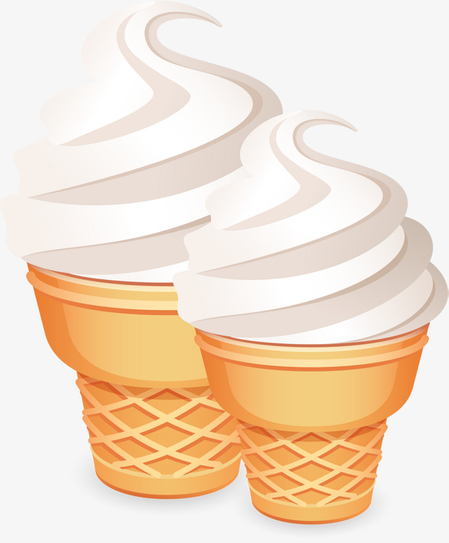 矢量手绘冰淇淋素材图片免费下载_高清psd_千库网