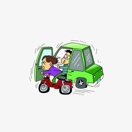 撞车交通事故插图图片