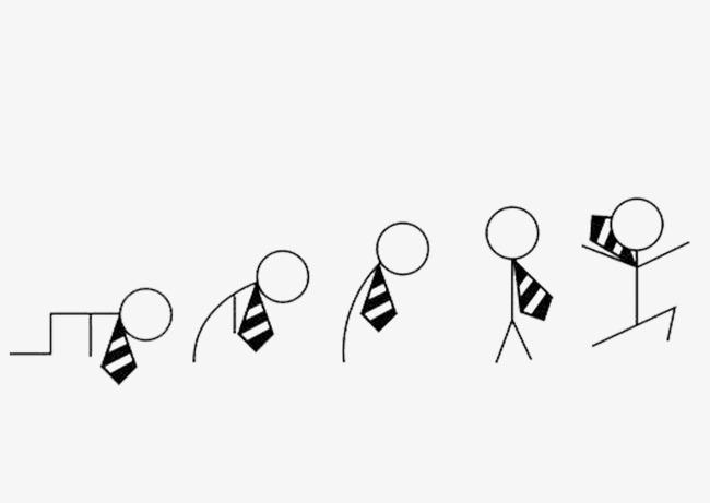 卡通小人动作