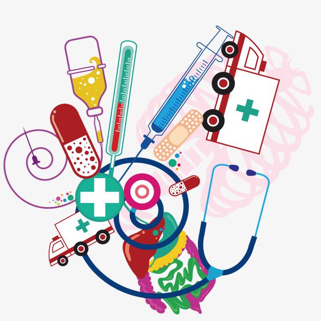 医疗设备素材图片免费下载 高清卡通手绘psd 千库网 图片编号7037108