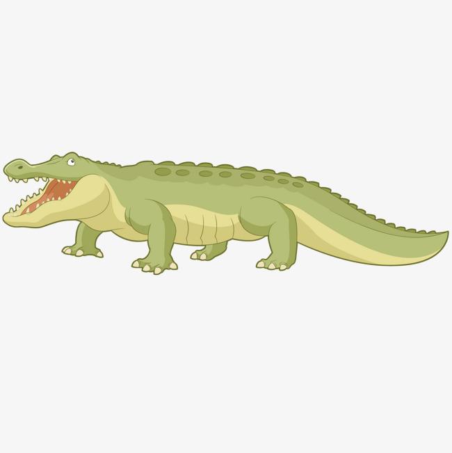 90设计提供高清png手绘动漫素材免费下载,本次张开嘴的鳄鱼作品为设计
