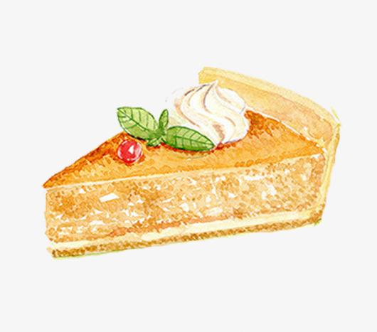 卡通三角形小蛋糕图片
