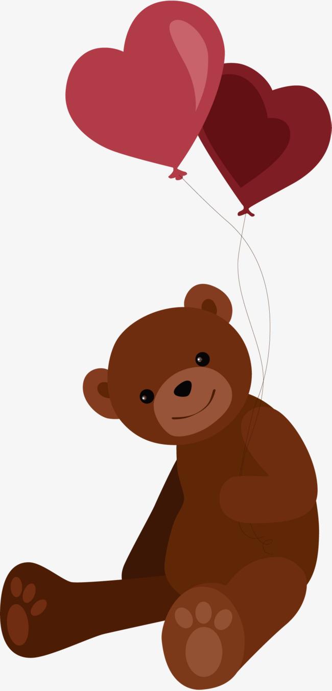 矢量手绘小熊