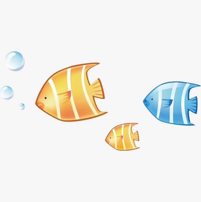 卡通小鱼图片图片