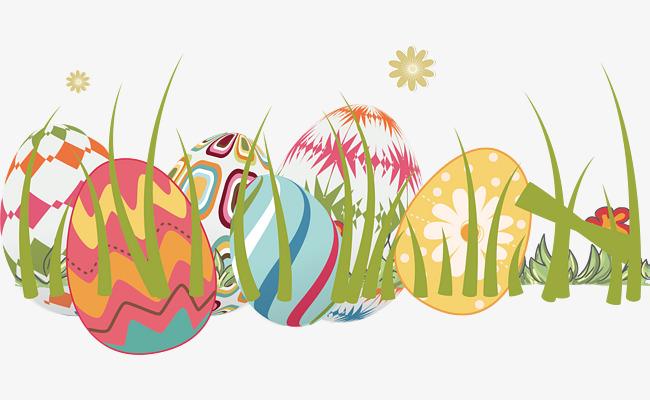 矢量手绘彩蛋