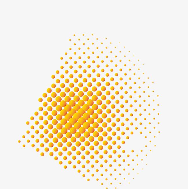 橙色圆圈png素材-90设计