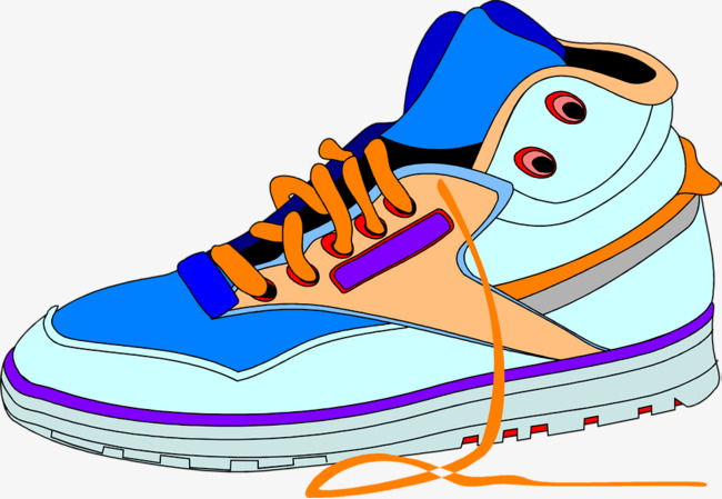 手绘运动鞋