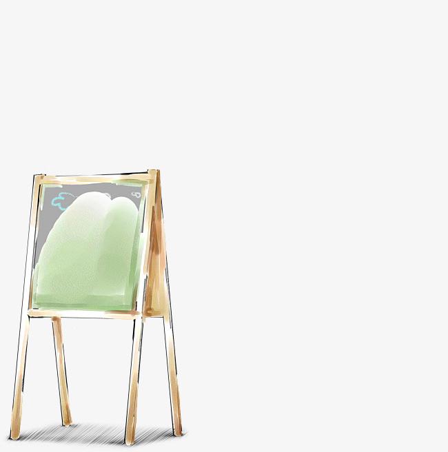 手绘室内画板创意