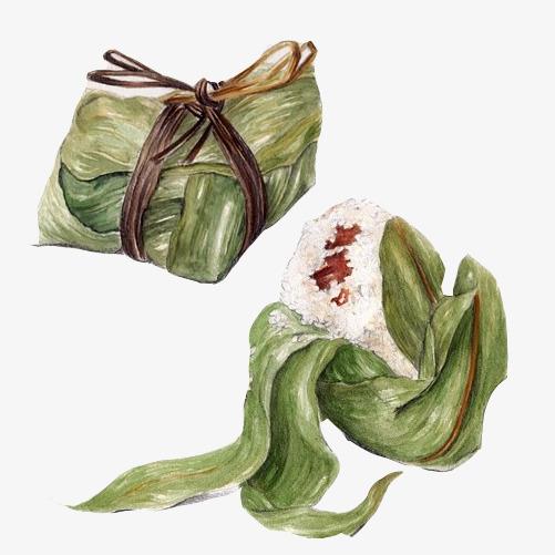 粽子手绘画素材图片