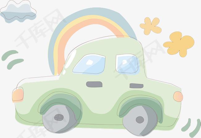 卡通小汽车素材图片免费下载 高清psd 千库网 图片编号7135876图片