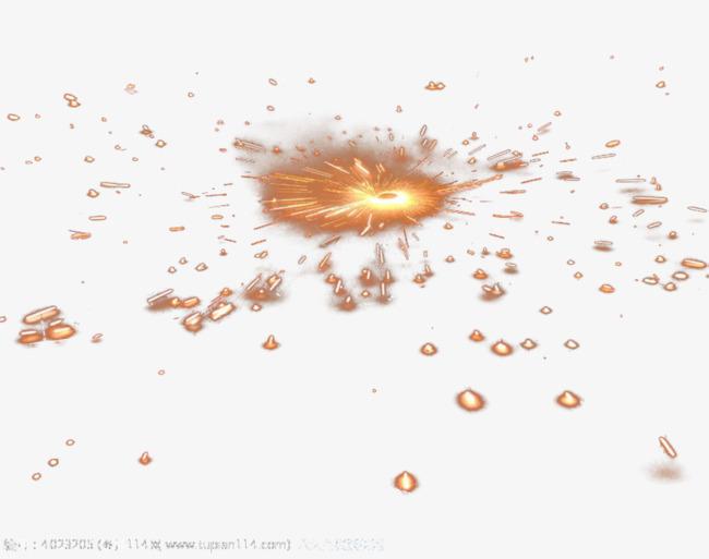火花 飞溅效果 火光 火花四射 png免费图片             此素材是90