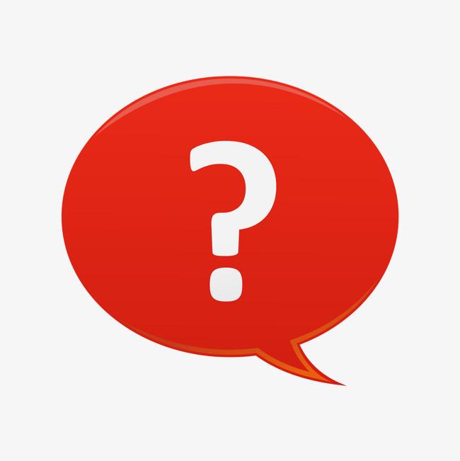 红色 问号 素材 扁平化 销售人员             此素材是90设计网官方