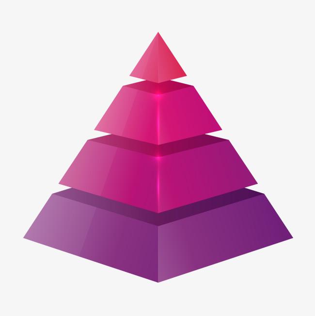 矢量手绘金字塔