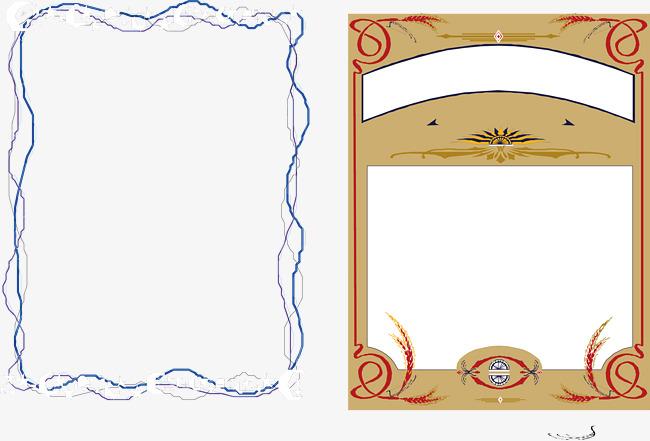 ppt 背景 背景图片 边框 模板 设计 相框 650_441