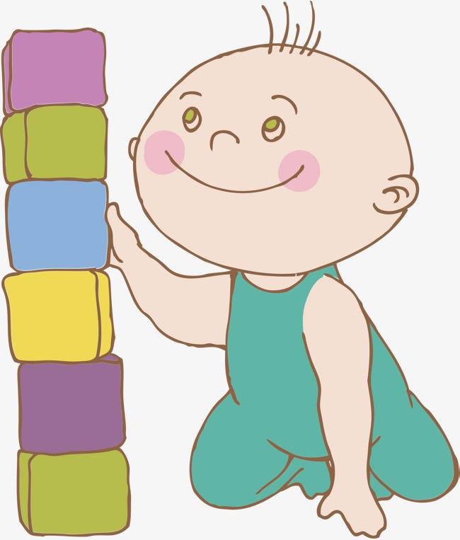 爬行的宝宝图片