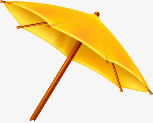 矢量手绘小雨伞