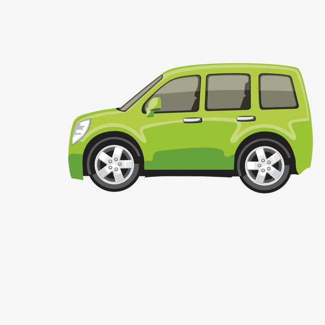 绿色 车侧面 汽车 矢量 图案             此素材是90设计网官方设计