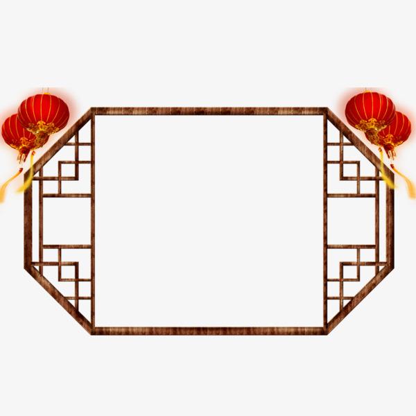 中式框架图片