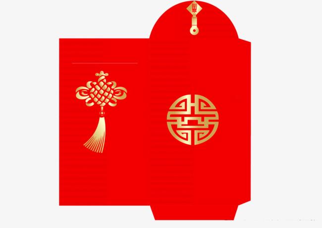 红包新春【高清装饰元素png素材】-90设计图片