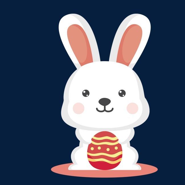矢量卡通可爱兔子作品为设计师创作,格式为png,编号为 17996925,大小