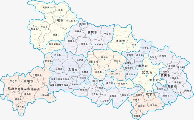 地图 湖北地图 湖北省 湖北省地图 中国湖北地图             此素材