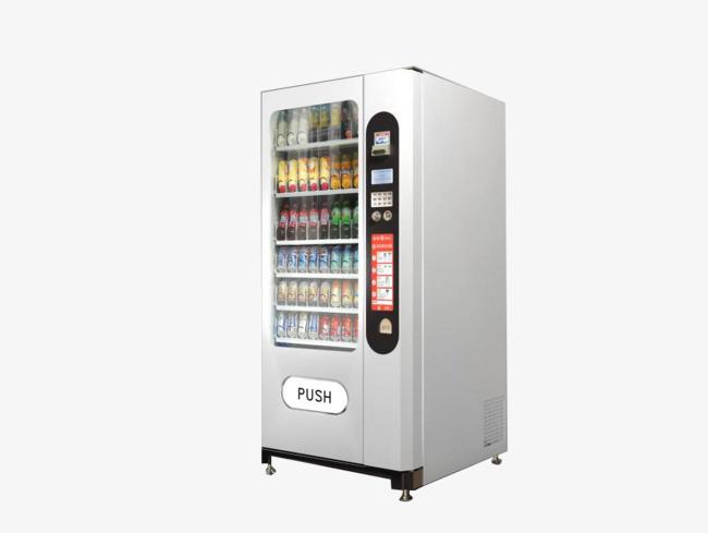 饮料自动实物售货机